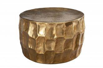 Konferenční stolek ORGANIC ORIENT 68 CM zlatý