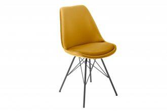 Jídelní židle SCANDINAVIA ŽLUTÁ