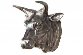 Nástěnná dekorace TORERO 65 CM stříbrná