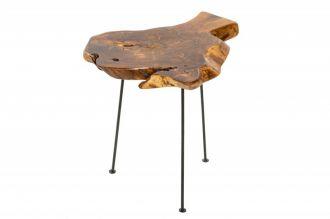Odkládací stolek WILD 40CM, masiv teak nature