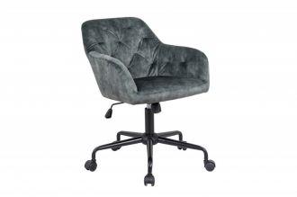 Pracovní židle DUTCH COMFORT zelená samet