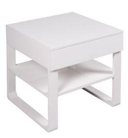 Noční stolek CORTES 50 CM bílý