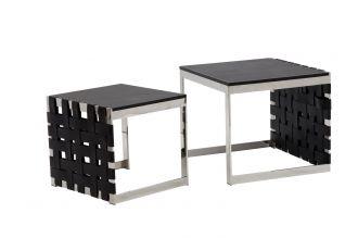 2SET konferenční stolek WOVEN 60/50 CM