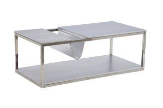 Konferenční stolek GIORNAL SILVER 120 CM