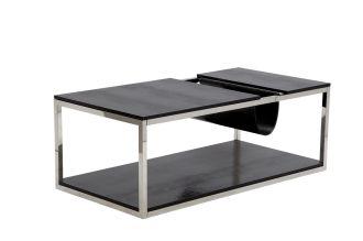 Konferenční stolek GIORNAL BLACK 120 CM
