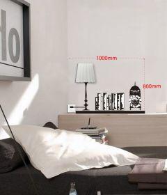 Samolepka na zeď DECORATIVE SHELVES 100x80 CM