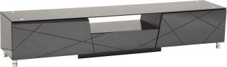 Televizní stolek LUXO BLACK 200 CM