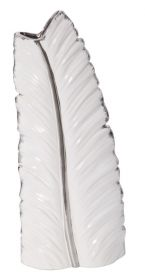 Váza SILVER LEAF 45 CM