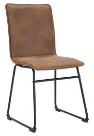 Židle ROPOLIS hnědá