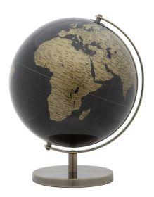 Stolní globus 25 CM bronzový