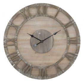 Nástěnné hodiny WOODY 80 CM