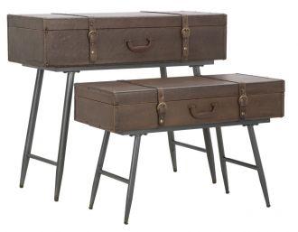 2SET Konzolový stolek TRAVEL COPPIA 90/80 CM