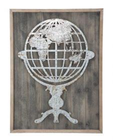 Nástěnná dekorace WORLD A 80 CM