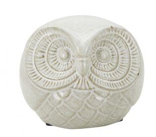 Soška SAND OWL 15 CM