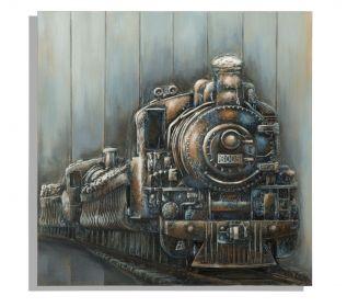 Plátěný obraz TRAIN 80 CM