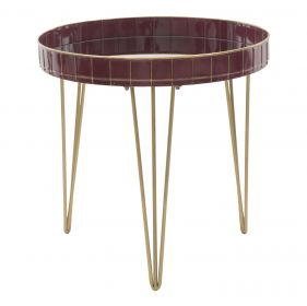 Odkládací stolek BORDEAUX 60 CM