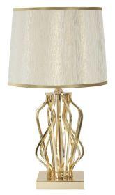 Stolní lampa GOLDEN WAVES 52 CM