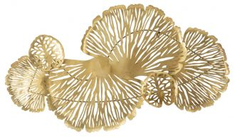Nástěnná dekorace GOLDEN LEAF 115 CM