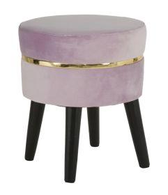 Stolička FRANCIS 40 CM růžová