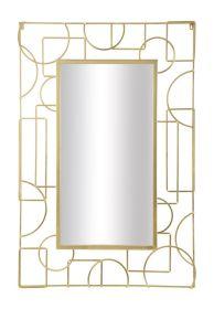 Zrcadlo LUXY GOLD 120 CM