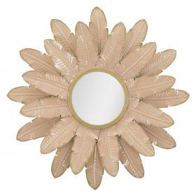 Kulaté zrcadlo FLORET 64 CM