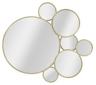 Nástěnná dekorace / Zrcadlo COLOR PALETTE 81 CM