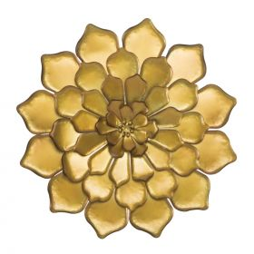 Nástěnná dekorace FIORE GOLD B 63 CM