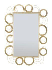 Zrcadlo GOLDEN CIRCLES 108 CM