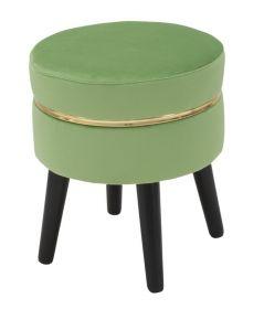 Stolička FRANCIS 40 CM světle zelená