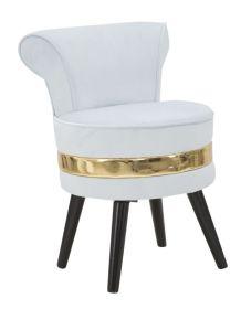 MINI židle/stolička PARIS II světle modrá