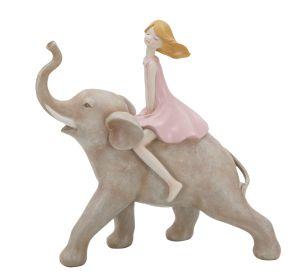 Soška ELEPHANT GIRL 22 CM