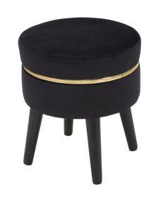 Stolička FRANCIS 40 CM černá