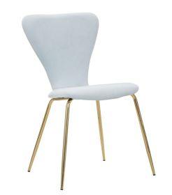2SET židle LOTE světle modrá