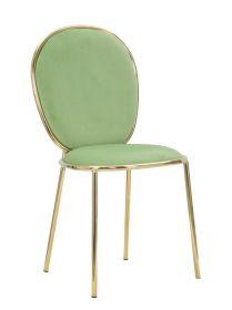 2SET židle LILY zelená