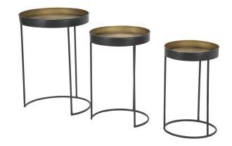 3SET odkládací stolek OTIS 60/54/49 CM