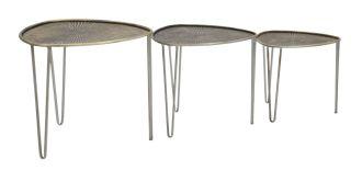 3SET odkládací stolek BASE II 47/41/35 CM