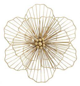Nástěnná dekorace GOLDEN FLOWER 45 CM
