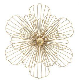 Nástěnná dekorace GOLDEN FLOWER 50 CM