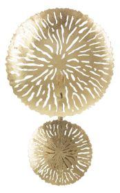 Nástěnné svítidlo GLAM 46 CM zlaté