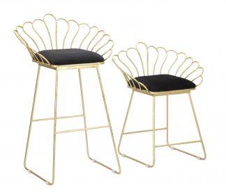2SET židle ELEGANCE černá