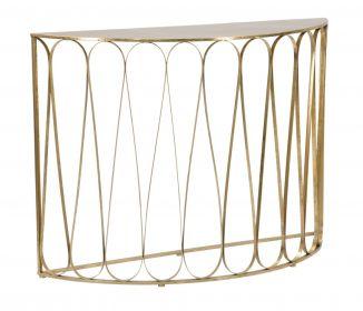 Konzolový stolek SEMIGOLD 115 CM