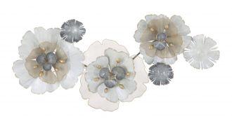 Nástěnná dekorace FLOWERY 119 CM