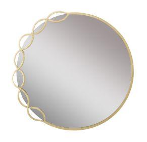 Kulaté zrcadlo LEONA 73 CM