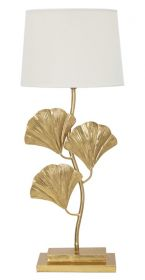 Stolní lampa GOLDEN LEAF 81 CM