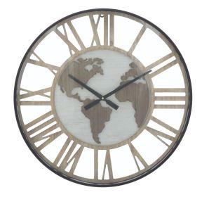 Nástěnné hodiny WORLD TIME 60 CM