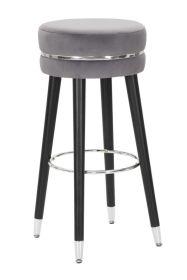 Barová židle PARIS 74 CM šedá