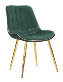 2SET židle FRANCE zelená