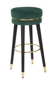 Barová židle PARIS 74 CM zelená