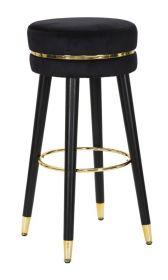 Barová židle PARIS 74 CM černá