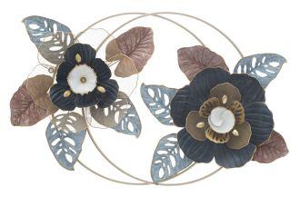 Nástěnná dekorace FLOWER DOP 62 CM